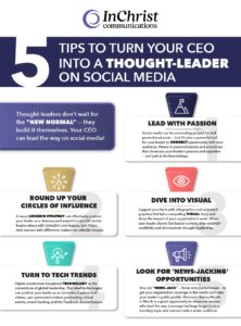 5 Tips to Turn you CEO into a Thought Leader